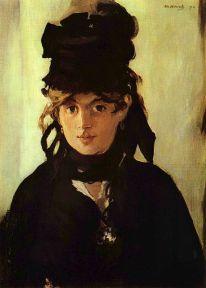 Potret Berthe Morisot- Eduard Manet