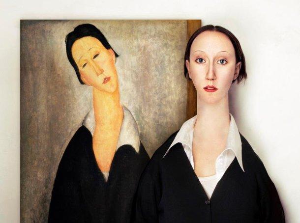 Amadeo Modigliani-Portrait of a Polish Woman- 1919