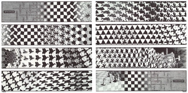 Metamorphosis III. M.C. Escher