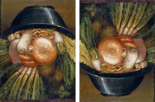 The Gardener. Arcimboldo