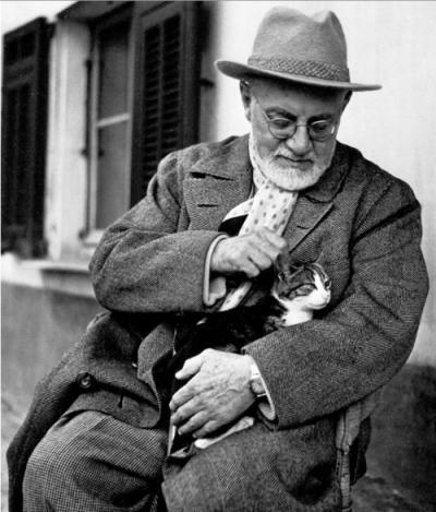 Matisse z kotem