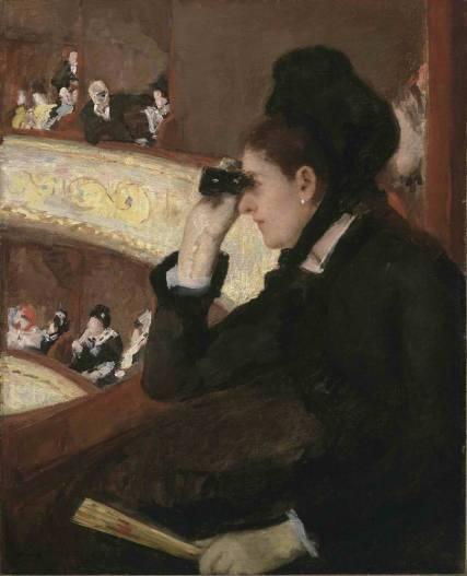 W loży. Cassatt