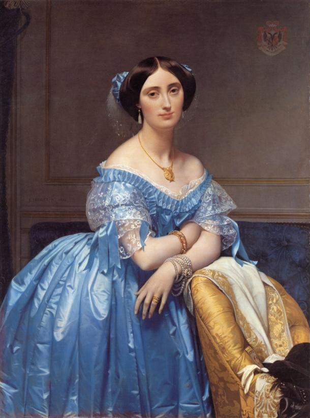 Ingres. Princesse Albertde Broglie