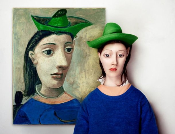 Pablo Picasso- Woman With A Green Hat