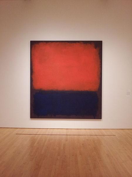 No. 14 - Mark Rothko. Inna, choć podobna, praca malarza została sprzedana w zeszłym roku za 86.9 mln $