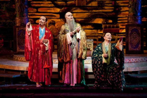 Ministrowie Ping, Pang i Pong. Metropolitan Opera 2009