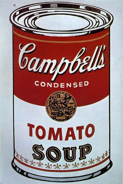 Zupa Campbells', Andy Warhol