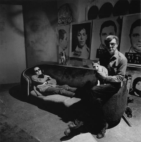 Warhol i jego pupil