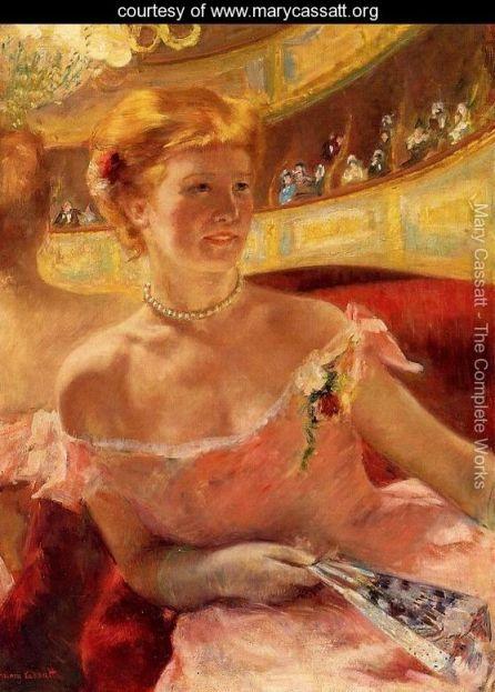 Kobieta w loży
