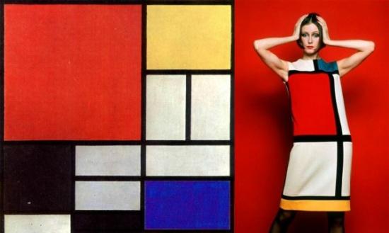 Piet Mondrian/ Yves- Saint Laurent