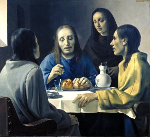 Uczniowie z Emaus, Han van Meegeren