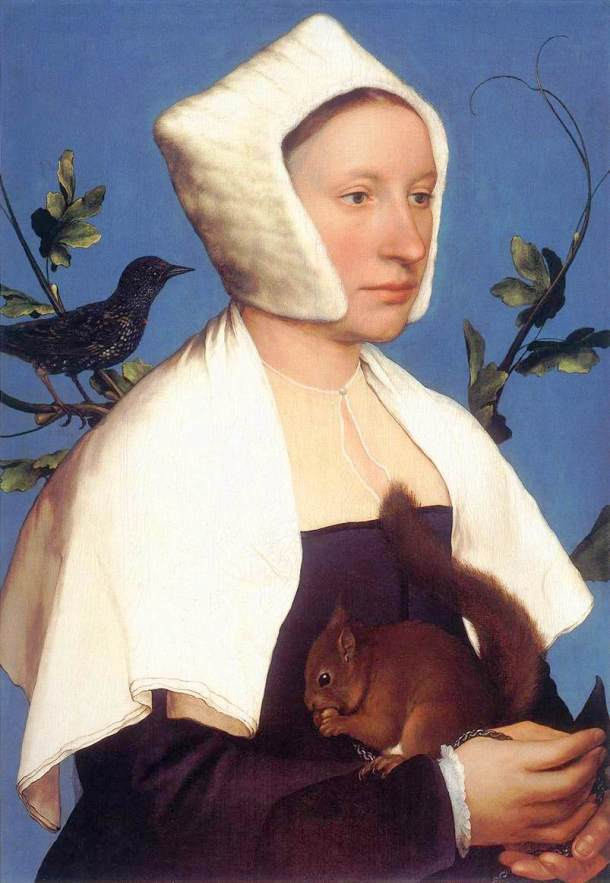 lady-with-a-squirrel-and-a-starling-hans-holbein-the-younger-1528