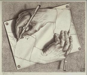 Trompe l'oeil a twórczość M.C.Escher'a