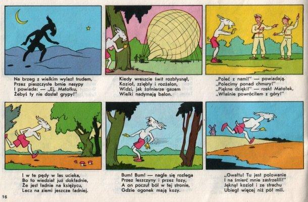 Przygody Koziołka Matołka ilustrowane przez