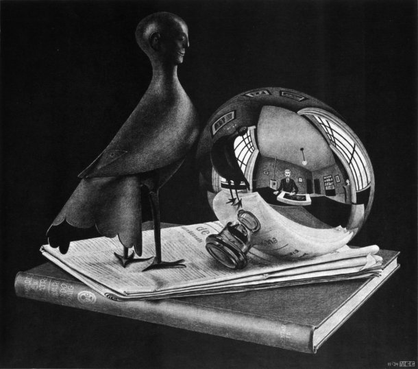 still-life-with-spherical-mirror
