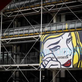 Wystawa Roy'a Lichtenstein'a w CentrePompidou