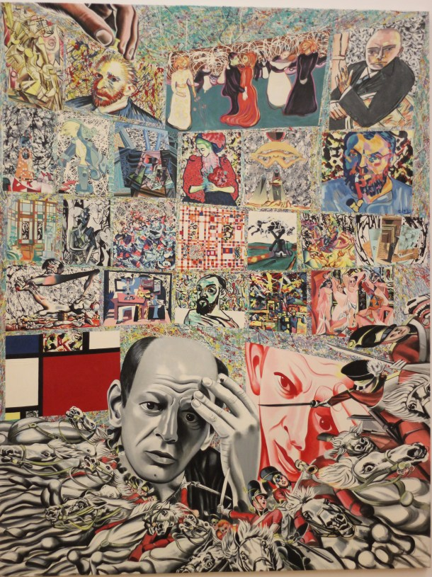 The Background of Pollock (1966/67 r.)