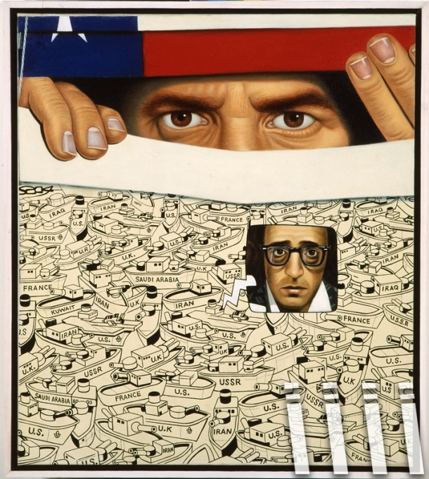 The Gulf War (They are speaking of Woody Allen) - 1990 r.