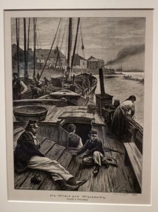 Drzeworyt Edward Gorazdowski na podstawie rysunku A. Gierymskiego