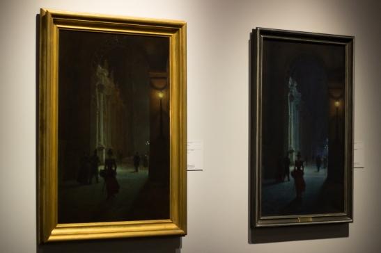 Luwr w nocy I i Luwr w nocy II - 1891
